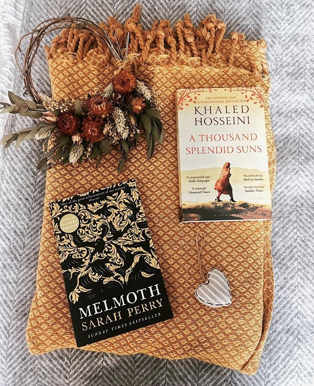 Melmoth Sarah Perry and A Thousand Splendid Suns by Khaled Hosseini
